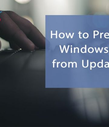 How to Prevent Windows 10 from Updating
