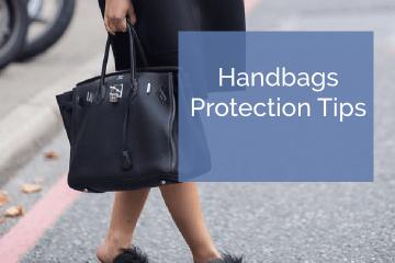 Designers bag protection tips
