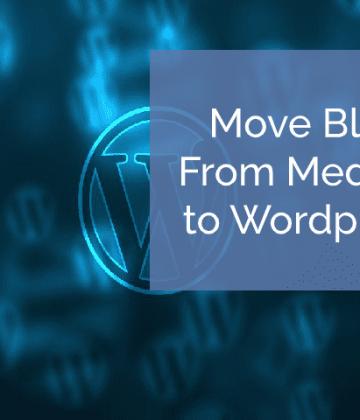 Move blog from medium to wordpress