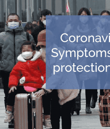 Coronavirus symptoms and preventions