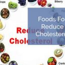 Foods for reduce cholesterol level