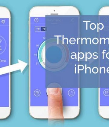 Thermometer apps to check body temperature