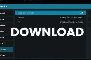 Download from kodi addon